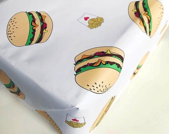 Wrapping Paper - Burger