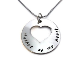 """Gift for Second Moms """"Mother of my heart"""" for like a mother, second mother, step mother, friendship gift this"""