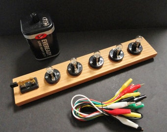 Basic Beginner Circuit Kit - For Teaching Series and Parallel Circuits -Brand New