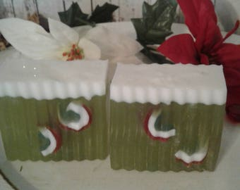 Handcrafted Holiday Soaps