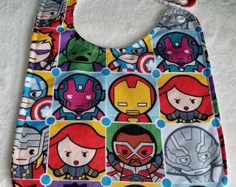 Baby Bib - Cartoon Avengers