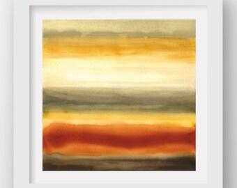 COLOR + RAIN FRIDAY, limited edition giclee art print, rain art, abstract wall art, modern art print