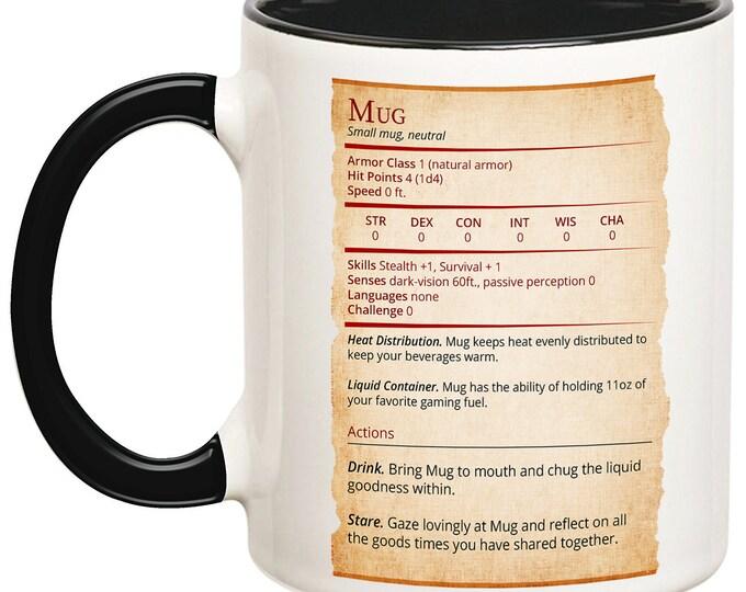 Mug Stat Card
