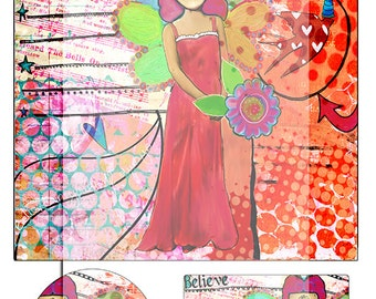 mixed media collage sheet No 7..... A4 DiGiTaL CoLLaGe JoUrNaL ImAgEs