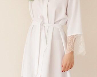 Bridesmaid Robes, Lace Robes, Bridal Robe, Bride Robe, Getting Ready Robes, Bridesmaid Gifts, Wedding Robes, Kimono Robe, Bridal Party Robes