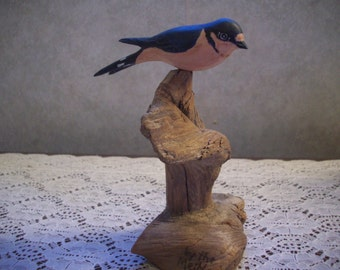 Barn Swallow - Hand Carved & Painted - Basswood
