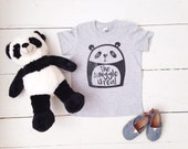 The Snuggle Is Real Panda tshirt, toddler tee, trendy kids tee, graphic tee, panda bear shirt, kids tee
