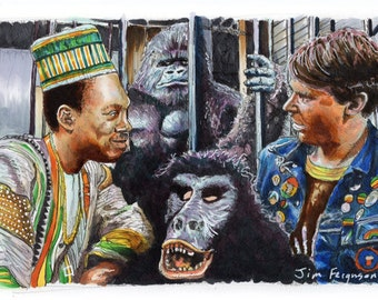 Trading Places - Merry New Year Poster Print
