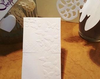 50x handkerchiefs for Tears of Joy Butterfly