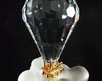 "RARE! Swarovski Crystal Memories ""Journeys"" Hot Air Balloon 220504"