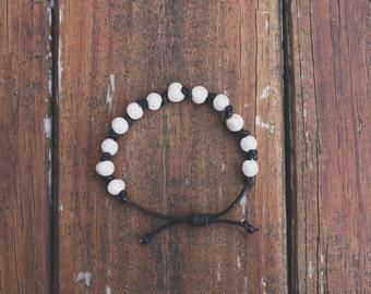 Freshwater Pearl Leather Bracelet/Anklet