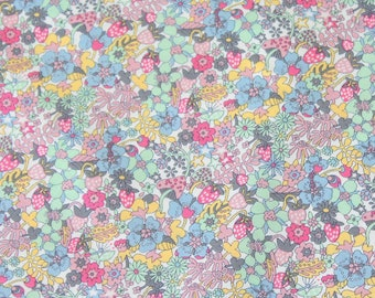 Flowertops from the Tea for Two quilting cotton collection by Liberty of London - 04775618X
