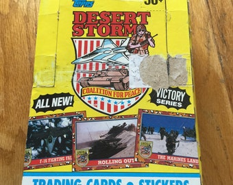 TOPPS Desert Storm Trading Cards with Stickers *New in box