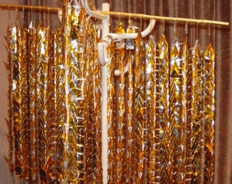 1000 Paper Cranes - origami - mobile - gold  **NEW LOWER PRICE!!**