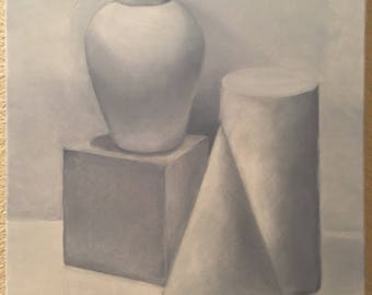 Grisaille painting