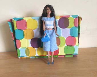 barbie doll clothes all hand knitted