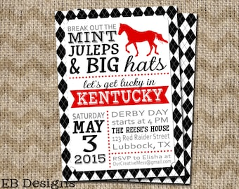 Kentucky Derby Invitation