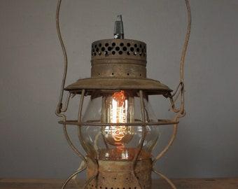 Antique Handlan Railroad Lantern