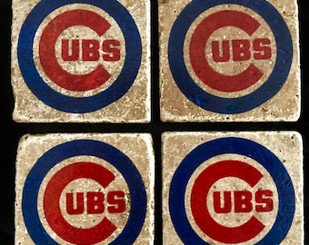 Chicago Cubs Coasters