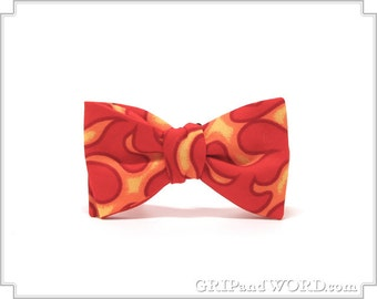 The Conflagration - Freestyle Flame Bow Tie