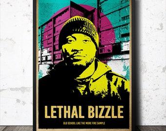 Lethal Bizzle Grime Poster