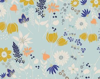 Leah Duncan for Art Gallery FABRIC - Gramercy Voile - Central Park Breeze