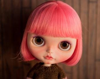 Realistic Dark Brown Blythe Eyechips
