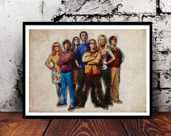 The Big Bang Theory Sheldon Cooper Leonard Hofstadter Penny Howard Wolowitz Rajesh Koothrappali Bernadette Rostenkowski Amy Farrah Fowler