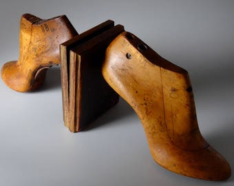 Shoemaker Lasts Shoe Forms Bookends Pair