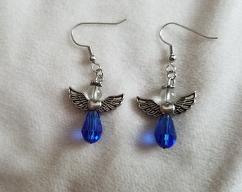 Blue Angel Earrings