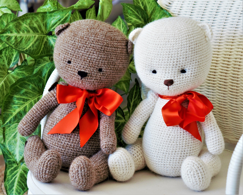 Easy Teddy Bear Toy Crochet pattern pdf (US - DE ) - amigurumi ...
