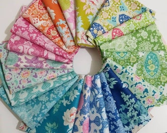 Tilda SUNKISS 20 Fat Quarter fabric bundle Tone Finnager