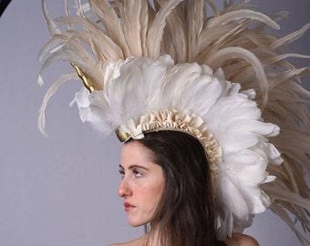 Unicorn Mohawk Headress