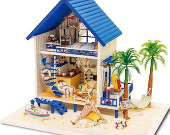 Aegean Sea - DIY Miniature Dollhouse Kit
