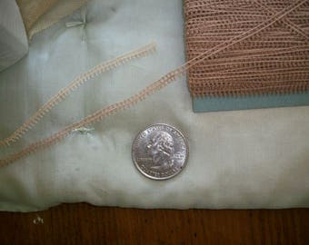 Tiny miniature french lace
