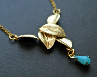 Leaf Necklace, Leaf Necklace Gold,Leaf Jewelry,Gold Leaf Necklace,Leaves Necklace