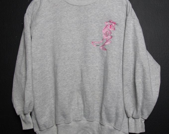 Pink Panther cartoon Vintage crewneck sweatshirt