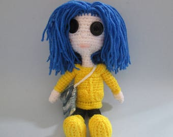 Amigurumi Wybie Doll : Coraline doll revised and improved amigurumi to go