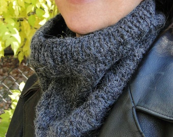 Ebony Cowl Neck Warmer