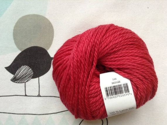 NUMBER 5 Cranberry - Fonty wool