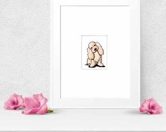 ORIGINAL English Cocker Spaniel Dog Art ACEO