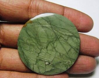 Rocky butte jasper cabochon round shape loose semi precious gemstone cabochon size 46 x 46 mm approx code 686