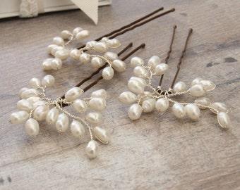 Bud Mini Pearl Bridal Hair Pins