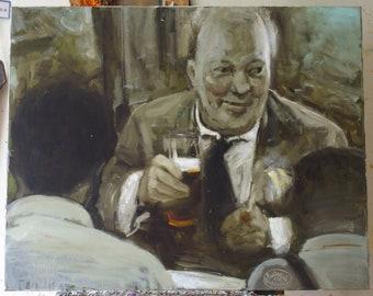 Vladyslav SHERESHEVSKY (b. 1969) - Guinness (80 x 100 cm)