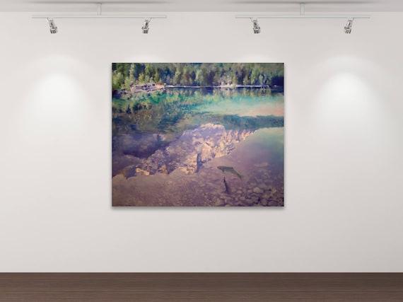 Gipfeltreffen -  Kunstdruck Gemälde von Stephanie Oncken