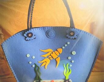 Felt Sea handbag