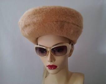 Vintage Inspired Fur Felt Beret Hat
