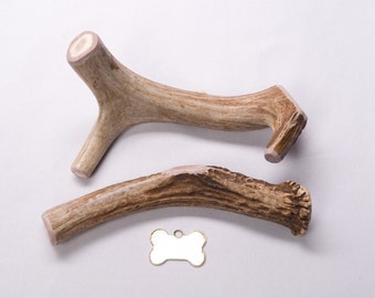 "Large ""Whole"" Deer Antler Dog Chew"