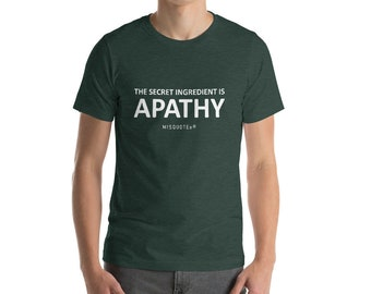 Apathy Shirt with Color Options