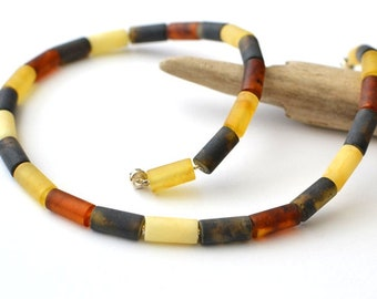Amber Necklace, amber Jewelry, modern Necklace, geometric Summer necklace, unisex jewelry